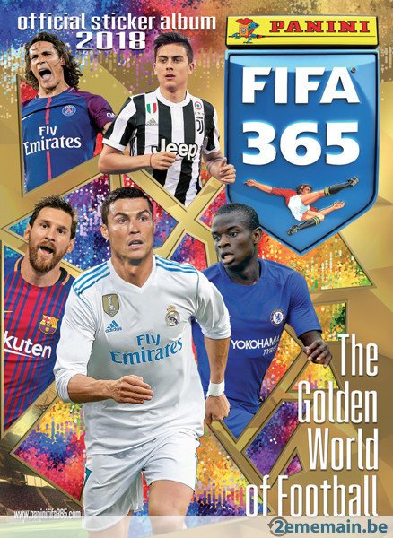 335ccd085 PANINI FIFA 365 STICKERS 2018 – Stickers collection maroc